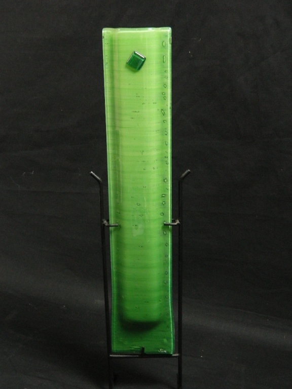 "16"" Vigra Modern Glass Vase"