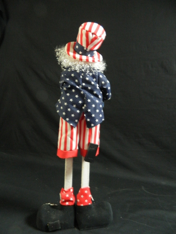 Lot 185: Standing Uncle Sam July 4th Decoration