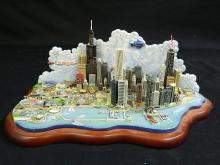 Lot 189: The Spirit Of Chicago in 3D Danbury Mint