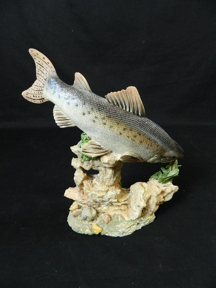 Lot 126: Set of 3 Chinese Fish Figurines
