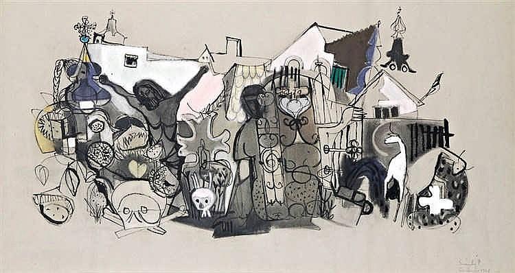 Szentendre motifs, 1961
