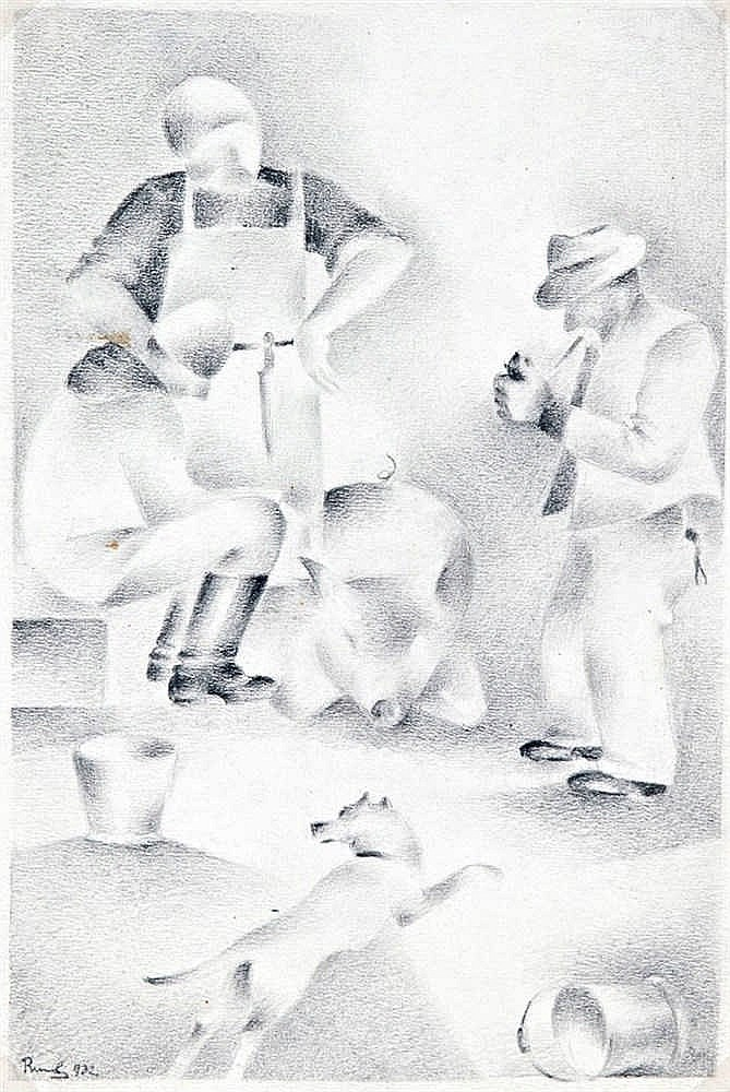 Pigsticking, 1932