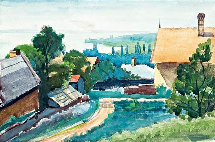 Balatonszepezd, 1955