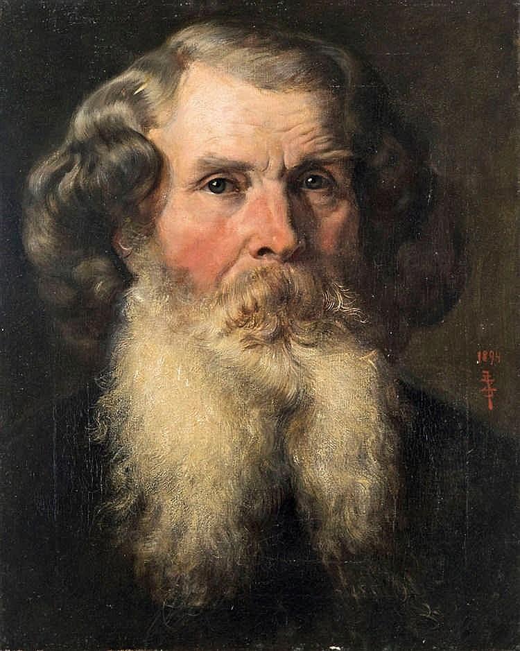 Portrait of Vilmos Zsolnay, 1899