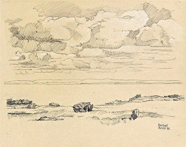 Swedish seashore, 1952