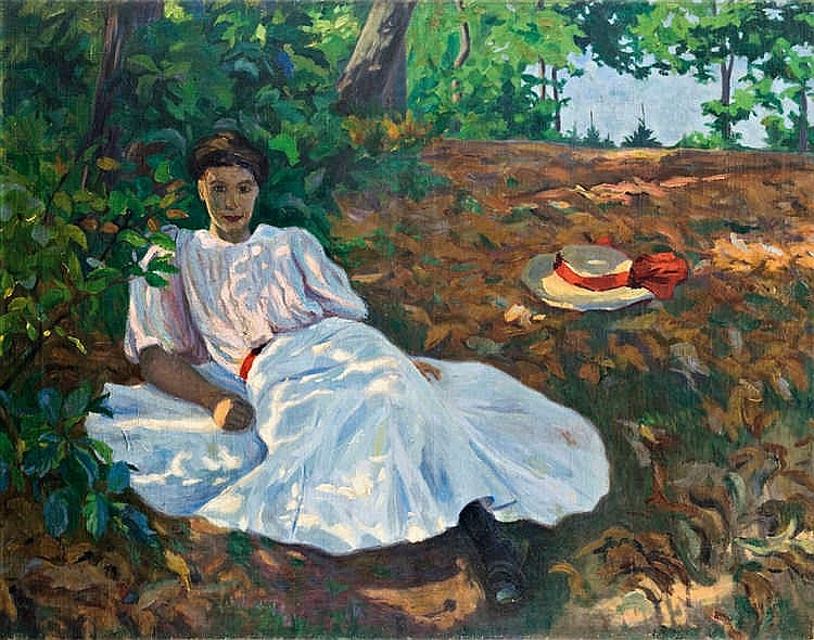 Afternnon rest, 1907