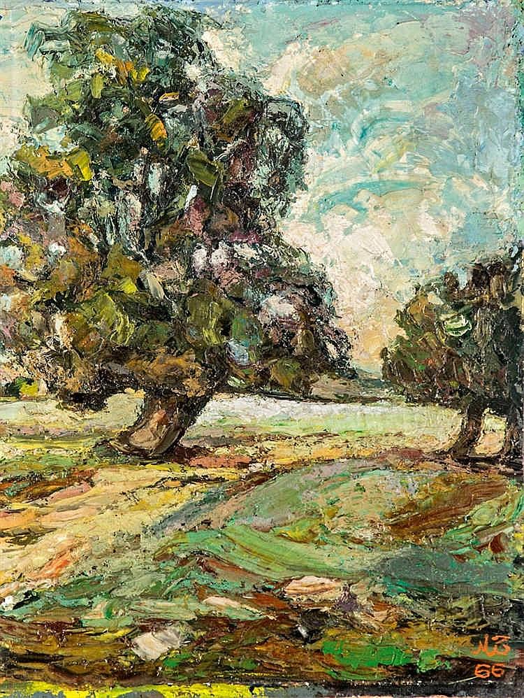 Frondous trees, 1966