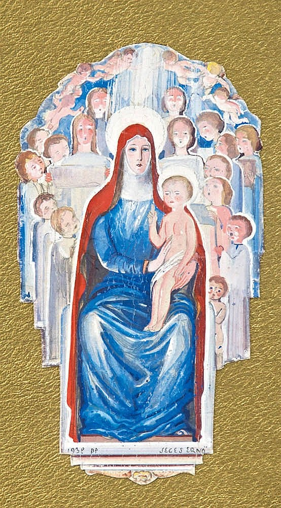 Virgin Mary with the child Jesus, 1938