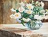 Still life with flowers, Gizella Barabás, HUF70,000