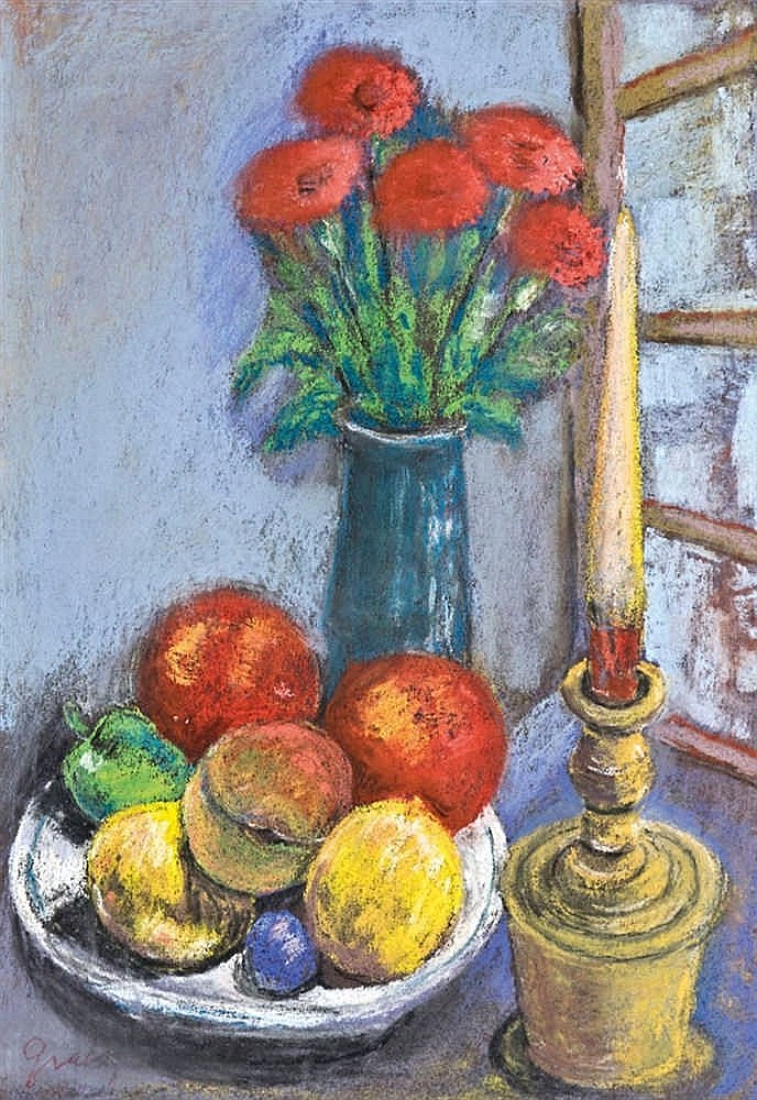 Still life in candlelight