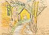 Visegrád, 1968, Frigyes Frank, HUF80,000