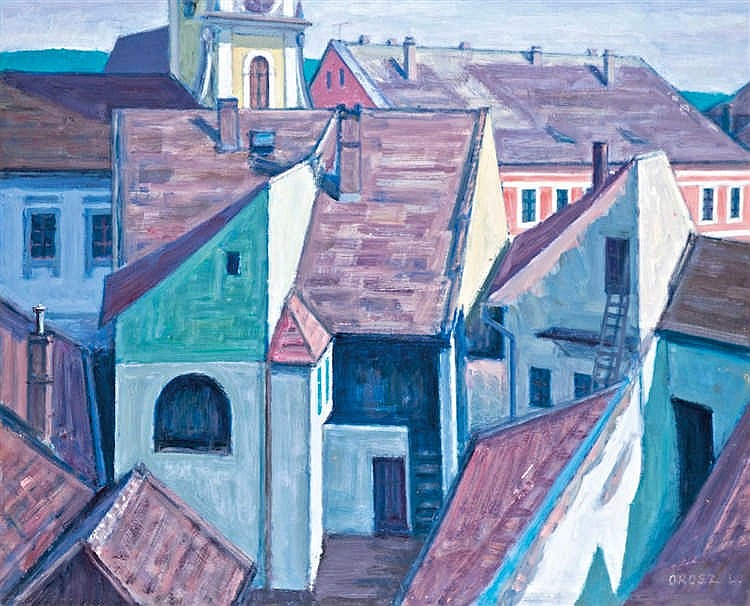 Rooftops of Szentendre