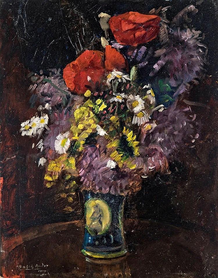 Flower still life, 1919