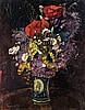 Flower still life, 1919, Andor Basch, HUF150,000