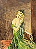 Woman with jewellery box, Louis Mark, HUF60,000