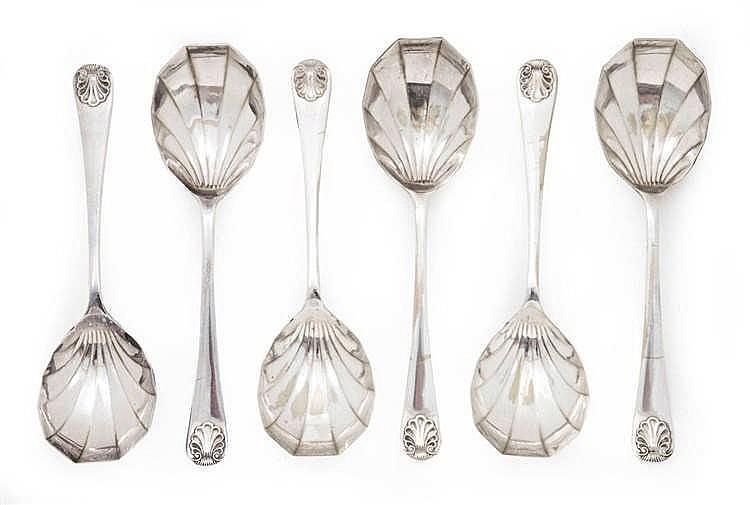 Ice cream spoon, 6 pieces
