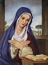 Hadzsy Olga (1880- ?) - Virgin Mary