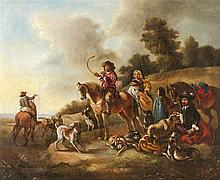 German painter, first half of the 19th century  - Hunting