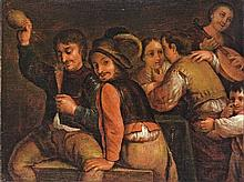 Dutch painter, end of the 19th century  - In the pub