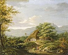 Dutch painter, end of the 19th century  - Rural landscape