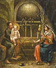 Austrian painter, first half of the 18th century  - The Holy Family
