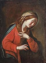Norhtern-Italian painter, around 1700  - Madonna