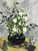 Biai-Föglein István (Besztercebánya, 1905- Budapest, 1974) - Flower still life with piggy bank, István Biai-Föglein, HUF70,000