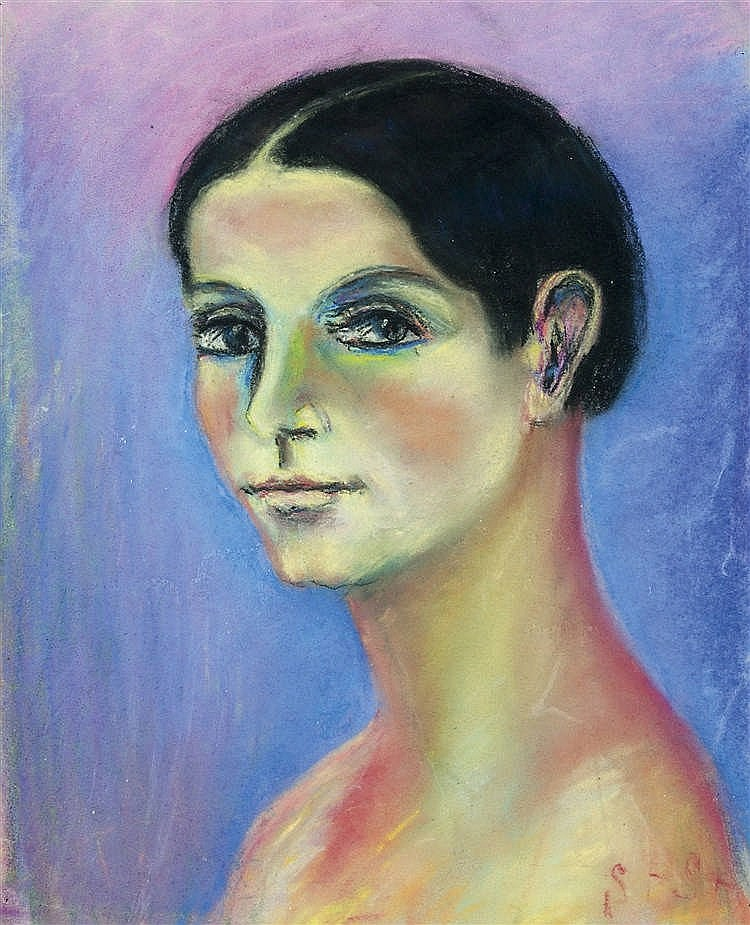 Stanislav Stückgold (Varsó, 1868 - Párizs, 1933) - Portrait of a woman