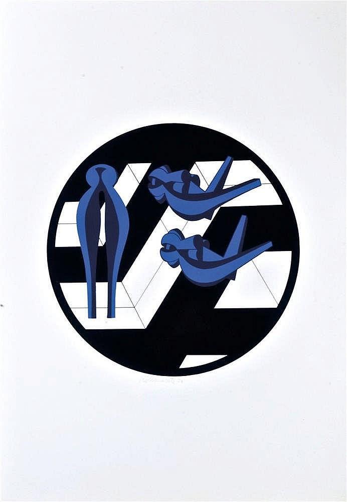 Amelio Roccante (1927-) - Il Robomondo di Roccamonte, 1970