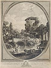 P. Laurent, end of the 18th century  - Washerwomen