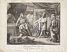 Vallardi brothers, 19th ecntury  - Mucius Scaevola