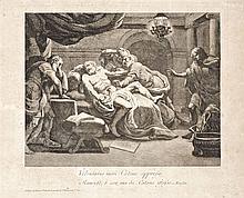 Vallardi brothers, 19th ecntury  - Death of Cato