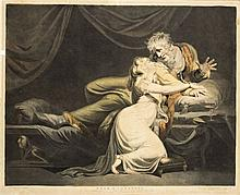 J. R. Smith, 19th century  - Lear and Cordelia