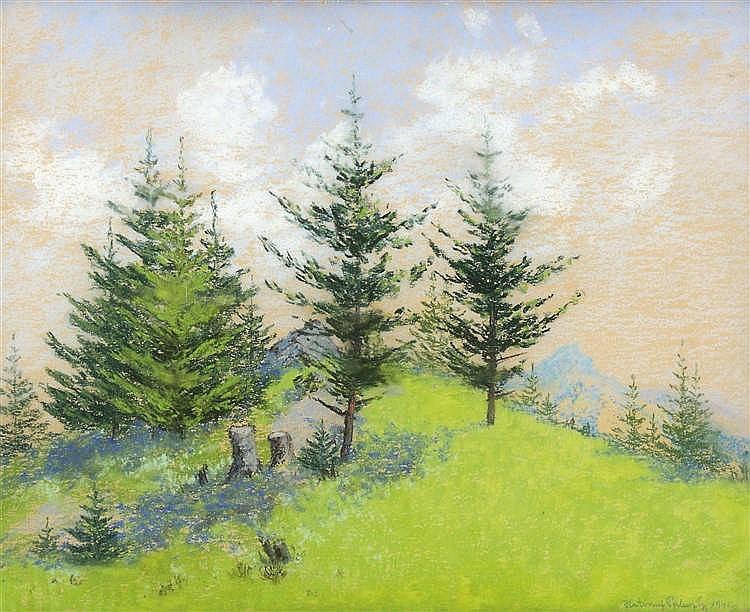 Hatvani Perlusz Gyula (Hatvan, 1896 - Hidegség, 1944) - Pine, 1941