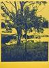 Fred Engelbert Knecht (Dübendorf, 1934 - Thalwil, 2010) - Variation with tree I , 1973, Fred Engelbert Knecht, HUF14,000