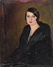 Bolmányi Ferenc (Léva, 1904 - Budapest, 1990) - Portrait of a woman