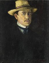 Szakácsy sign, beginning of the 20th century  - Self-portrait, 1905