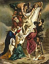 Austrian painter, first half of the19th century  - Descent from the cross