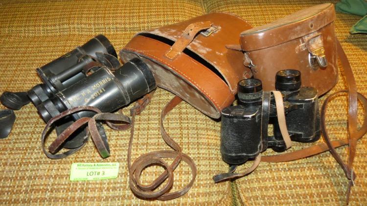 Two Vintage Binoculars