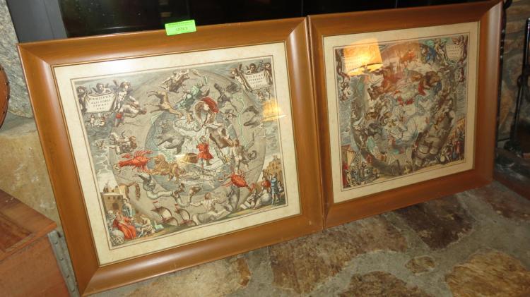 Two Framed Art Prints