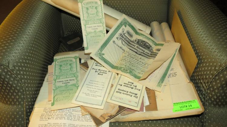 Collection Of Old Documents