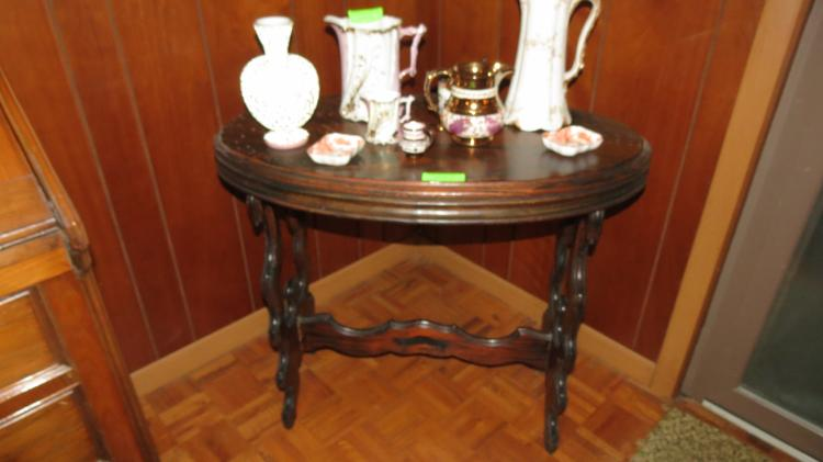 Early Oval Side Table