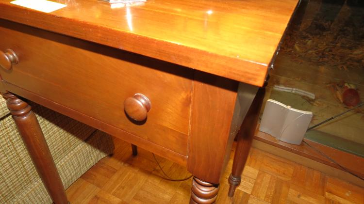 Early One Drawer Side Table