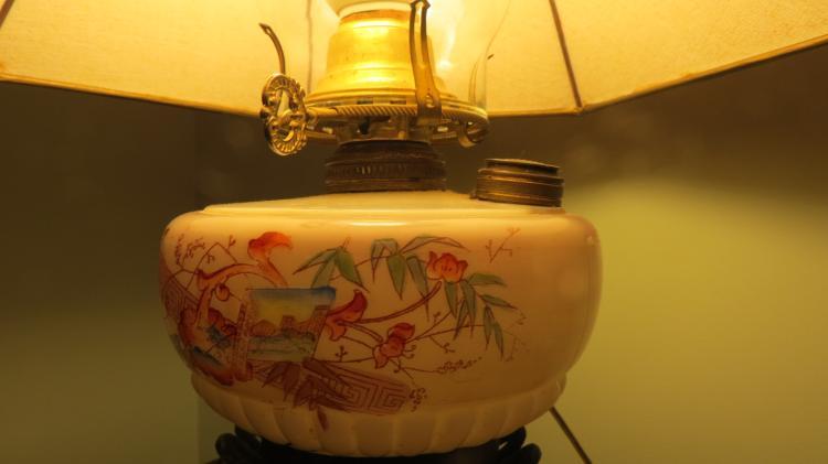 2 Brass Dresser Lamps
