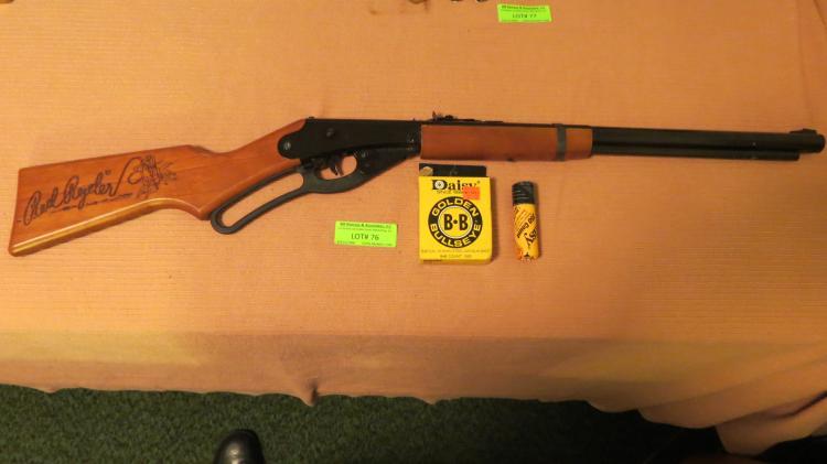 Early Daisy Red Rider Bb Gun