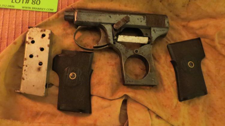 H And R Pistol 25 Cal. Needs Parts / Repair