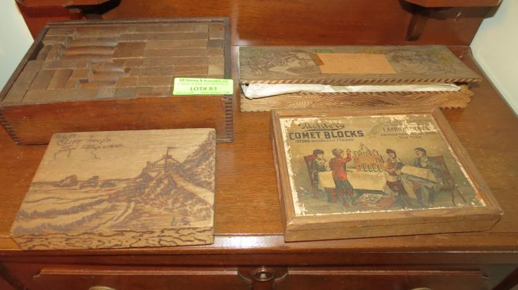 Very Early Games And Wood Boxes