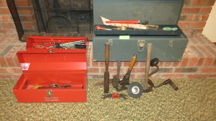 2 Tool Boxes And Contents