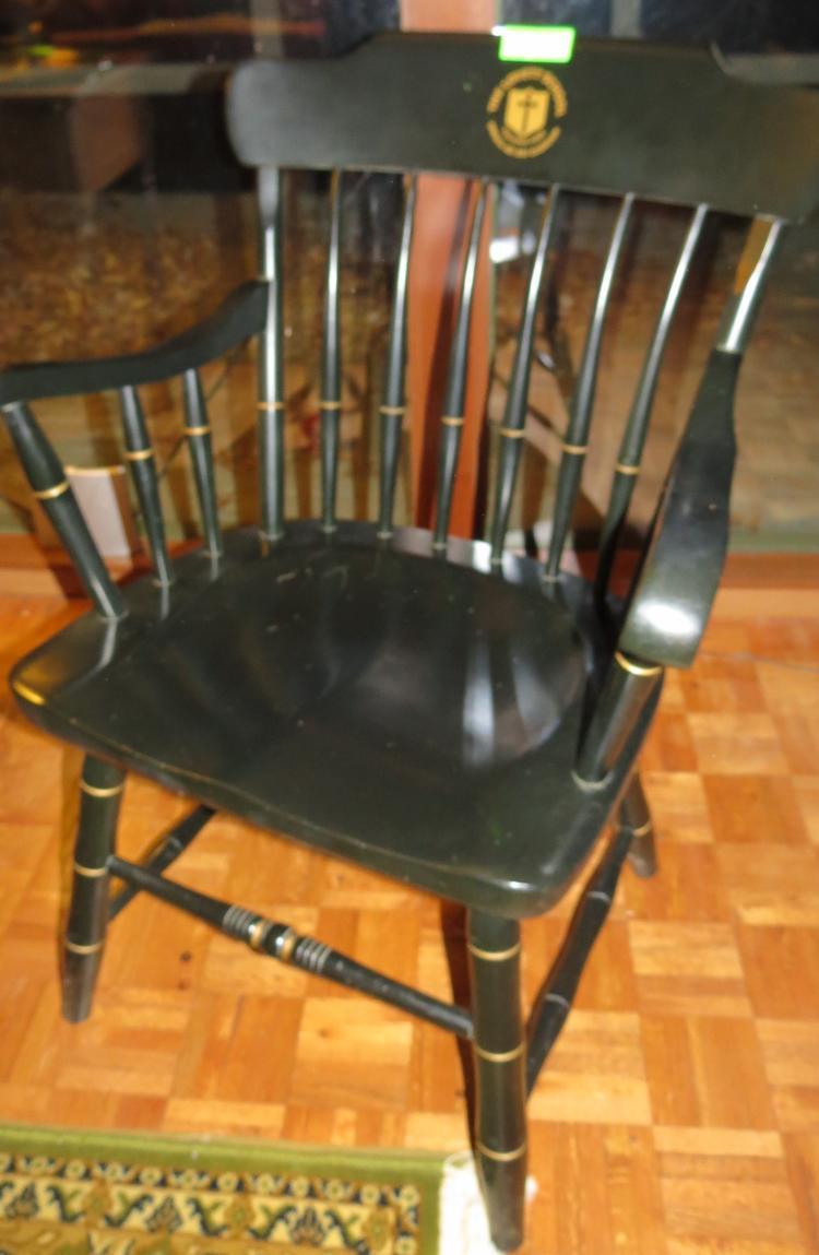 Black Armed Chair – The Lovett School