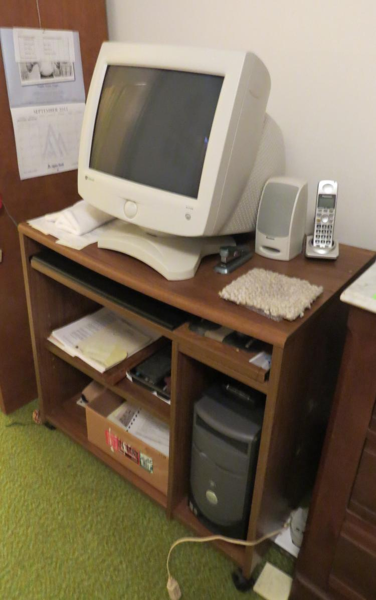 Computer Equipment With Desk